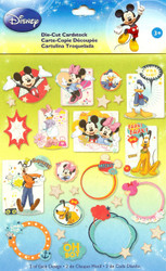Disney Mickey & Friends 52 Pieces Scrapbook Die Cuts EK Success NEW