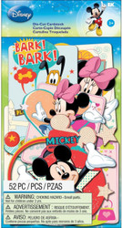 Disney Mickey Mouse & Friends 52 Pieces Scrapbook Die Cuts EK Success NEW