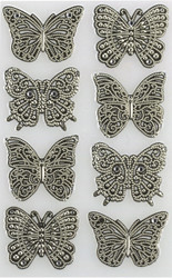 Elegant Filigree Butterfly Embellishment by Martha Stewart Crafts EK SUCCESS New