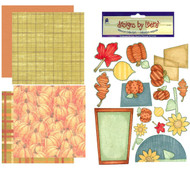 FALL HARVEST AUTUMN 12X12 Scrapbooking Kit LIMITED New