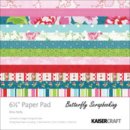 Floral Miss Nelly Collection 6.5 inch Paper Pad Scrapbooking Kit Kaisercraft NEW