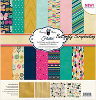 FLUTTER Collection Kit 12X12 Scrapbooking Kit Fancy Pants Designs 2505 New