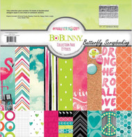 Forever Young Collection Pack 12x12 Scrapbooking Kit Bo Bunny BoBunny New