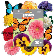 Garden Die Cuts 50+ Pieces Scrapbooking Die Cuts Paper House DCMA-0253 NEW