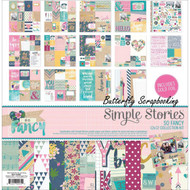 GIRL SO FANCY Collection Kit 12X12 Scrapbooking Kit Simple Stories 6400 NEW