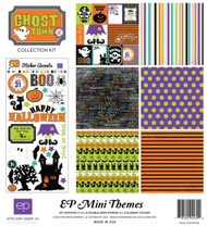 HALLOWEEN Ghost Collection Kit 12X12 Scrapbook Kit ECHO PARK PAPER CO SW5005 New