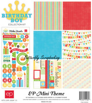 Happy Birthday Boy Collection 12X12 Scrapbooking Kit Echo Park Paper NEW