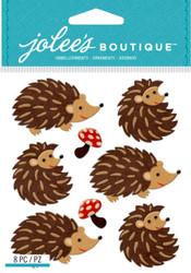 HEDGEHOGS 3D Stickers Jolee's Boutique EK Success 50-21830 NEW