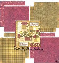 HERITAGE Collection 12x12 Scrapbooking Kit BoBunny Papers and Diecuts