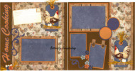 HOME COOKING 12X12 Page Layout Scrapbook Kit LIMITED