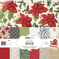 HOME FOR CHRISTMAS Collection 12X12 Scrapbooking Kit Kaisercraft Paper Craft NEW