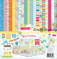 I Love Sunshine Collection Kit 12X12 Scrapbooking Kit Echo Park Paper Summer New