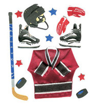 ICE HOCKEY SPORTS Jolee's Boutique EK Success New