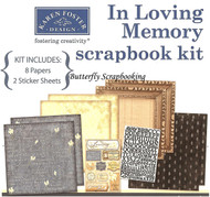 In Loving Memory 12X12 Scrapbooking Kit Always in my Heart Karen Foster NEW