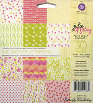 Julie Nutting Collection, 6''x6'' Scrapbooking Paper Pad PRIMA - NEW, 30 Sheets