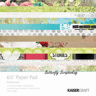 Kaleidoscope Collection 6.5 inch Paper Pad Scrapbooking Kit Kaisercraft NEW