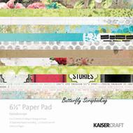 Kaleidoscope Collection 6.5 inch Paper Pad Scrapbooking Kit Kaisercraft NEW
