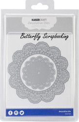LACE DOILIES 2 Die Cutting Dies Kaisercraft Decorative Dies DD504 NEW