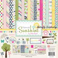 Lovely Splendid Sunshine Collection 12X12 Scrapbooking Kit Echo Park Paper C New