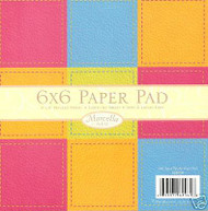 MARCELLA Pad 6X6 36 Sheets Scrapbook Kit K&Company