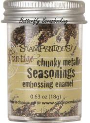 METALIC Deep Impression Embossing Enamel Powder Frantage Stampendous FREG044 New