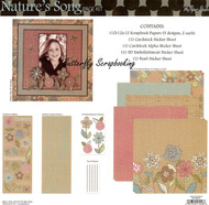 Nature's Song 12X12 Scrapbooking Kit The Paper Studio Freindship Memories NEW