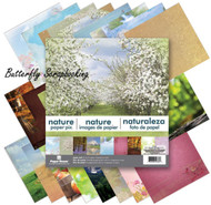 OUTDOORS NATURE 12x12 Scrapbooking Paper Pad 24 Sheet Paper House PP-0036 NEW