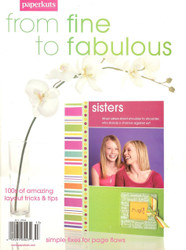 Paperkutz, From Fine To Fabulous Scrapbooking Idea And Instruction Book - NEW