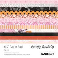Pretty Tigerlilly Collection 6.5 inch Paper Pad Scrapbooking Kit Kaisercraft NEW