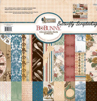 PROVENCE Collection Pack 12x12 Scrapbooking Kit Bo Bunny BoBunny New