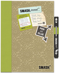 SMASH SCRAPBOOK Journal Album K&Company Eco Green NEW