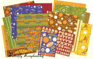 SPORTS COLLECTION 12X12 Scrapbook Kit K&Company NEW