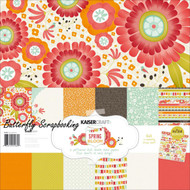 SPRING BLOOM Collection 12X12 Scrapbooking Kit Kaisercraft Paper Crafts NEW
