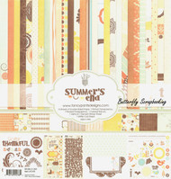 Summer's End Collection Kit 12X12 Scrapbooking Kit Fancy Pants Designs Fall NEW