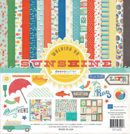 SUNSHINE Summer Collection 12X12 Scrapbooking Kit Echo Park Paper Co WS67016 New