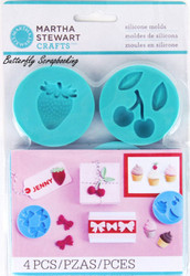 Sweet Shop Mold for Crafters Clay Martha Stewart Crafts Paper Crafting NEW