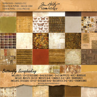 TIM HOLTZ IDEA-OLOGY 12X12 Scrapbooking Paper Pad Paper Stash Crowded Attic NEW