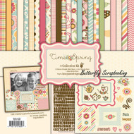 Time For Spring Collection 12X12 Scrapbooking Kit Fancy Pants Designs New