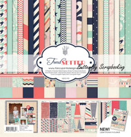 Trend Setter Collection 12X12 Scrapbooking Kit Fancy Pants Designs New