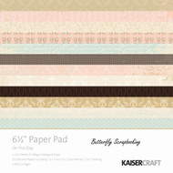 Wedding This Day Collection 6.5 inch Paper Pad Scrapbooking Kit Kaisercraft NEW