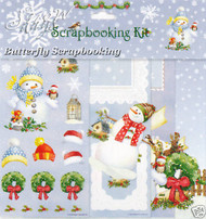 WINTER SNOW DAY 12X12 Scrapbooking Kit Carol Wilson NEW