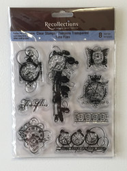 Clear Stamps, Time Flies - NEW