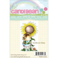 Sunflower Daisy, Unmounted Rubber Stamp LITTLE DARLINGS - 7031