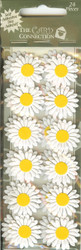 Paper Daisy Stickers