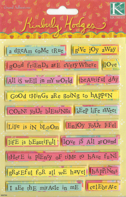 Kim Hodges Quotes