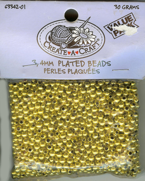 Gold Plated Beads
