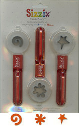 Swirl Splot Star PaddlePunch Set