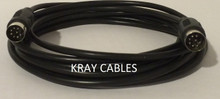 DIN 8 25 ft Male Male Cable (Large DIN)