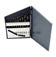 Norseman 115 pc cobalt m42 drill bit set number letter 116 to 12 norseman 11pc metric hi molybdenum m7 drill bit set 1 6mm made in usa greentooth Image collections
