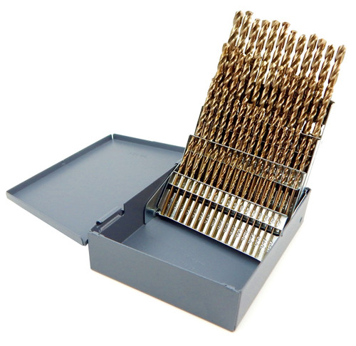 Norseman 60pc cobalt m42 number wire gauge drill bit set w index 1 norseman 60pc cobalt m42 number wire gauge drill bit set w index 1 60 usa d 60 greentooth